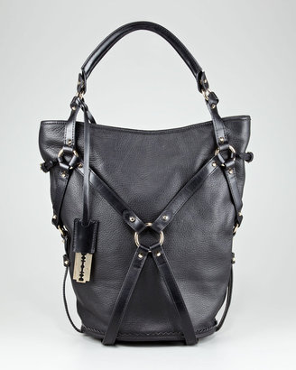McQ Alexander McQueen Leather Bucket Tote