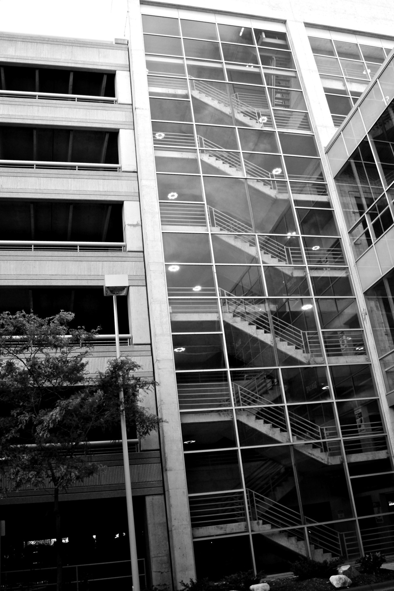Parkade Staircase | Minneapolis | May 20 2012