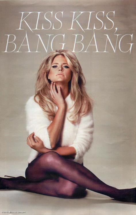 Miranda Lambert in the new issue of W Magazine. Smokin'!