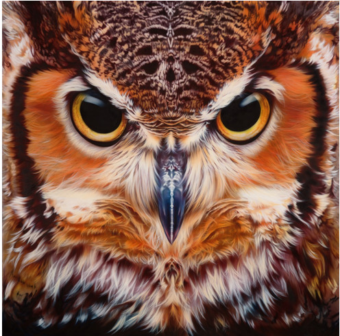 artmoderation:  (via Juxtapoz Magazine - Airbrushed Animals by Eyan Higgins Jones | Current)