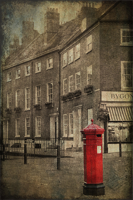 Red Pillar Box by ~Oryctes~ on Flickr.