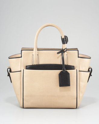 Reed Krakoff Mini Atlantique Tote, Nude Black