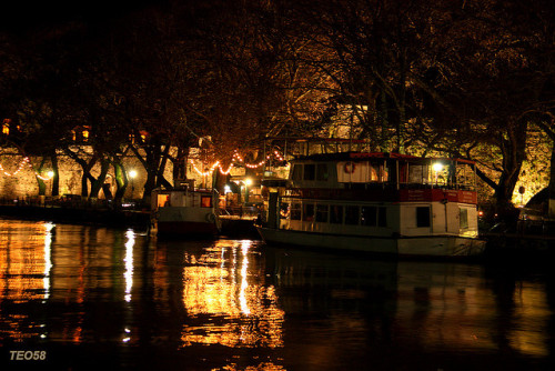Night in Ioannina by teo58- on Flickr.