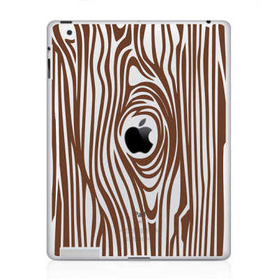 """Woodgrain"" iPad Decal by beepart"