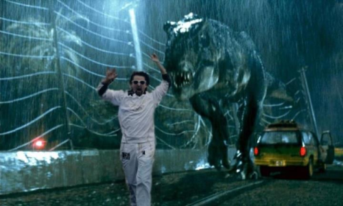 Matt running in Jurassic Park ;)