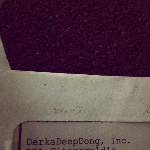 Mail came today from a business associate (Taken with instagram)