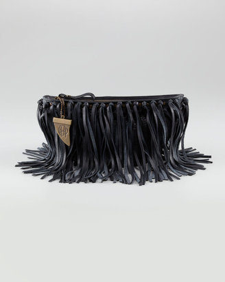 House of Harlow Hayden Fringe Clutch