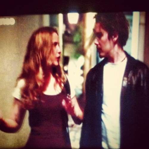 Saddest movie to play on European cable: Before Sunrise (Taken with instagram)
