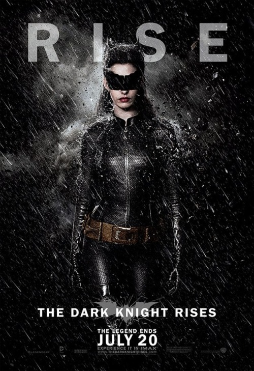 New character poster of The Dark Knight Rises - Selina Kyle