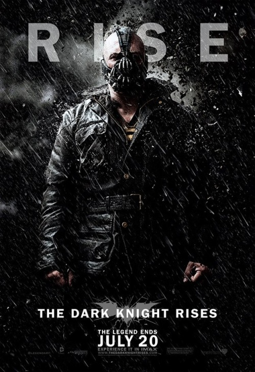 New character poster of The Dark Knight Rises - Bane