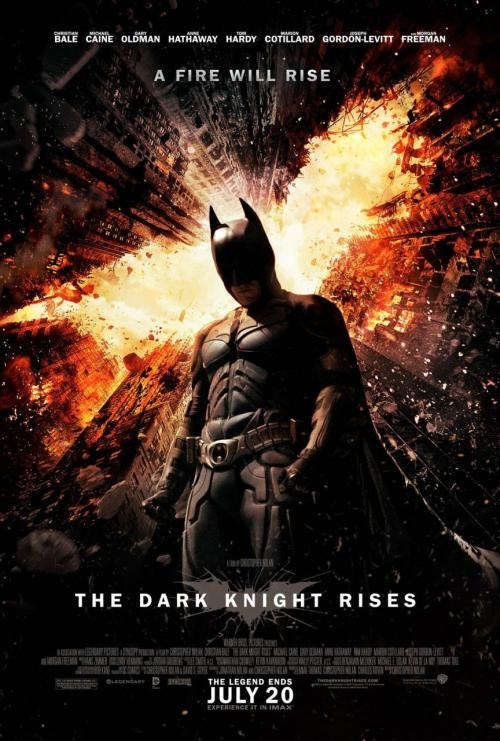 New poster of The Dark Knight Rises - starring Christian Bale, Tom Hardy, Gary Oldman and many more.