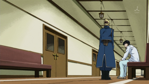 the episode in which Roy Mustang stars in a commercial for terminal illness related health care