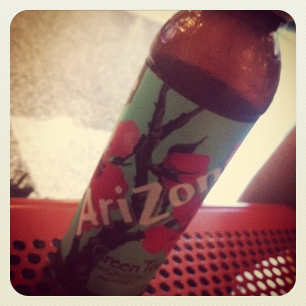 #arizona best drink in the world. Cheap yet good hits the spot.  (Taken with instagram)