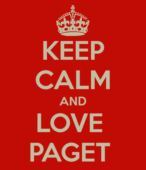 castleaddict:  KEEP CALM and LOVE PAGET