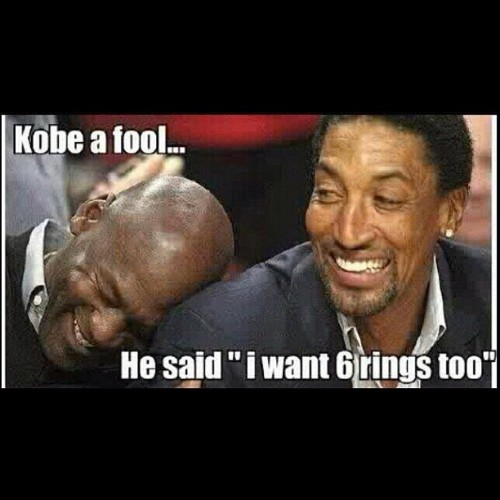 #nba #playoffs #championship #ring #kobe #fool #funny #trolling #jordan   (Taken with instagram)