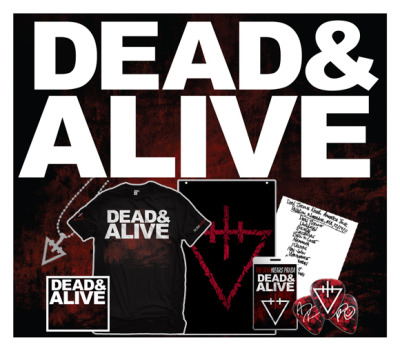 You can pre-order Dead&Alive, our new live DVD/CD combo at http://www.tdwpstore.com/ now. Be sure to check out all the bundles.