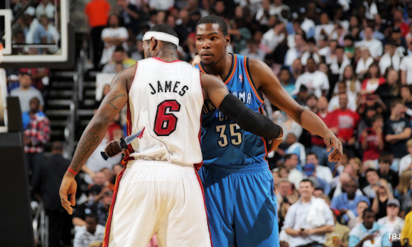 """The only way [Kevin Durant] gets better than LeBron James is if he kills LeBron James."" ~ Charles Barkley, using the Highlander Principle."