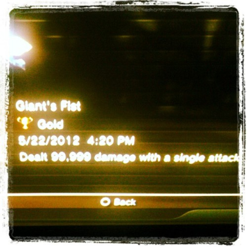 Max damage at 420 (Taken with instagram)