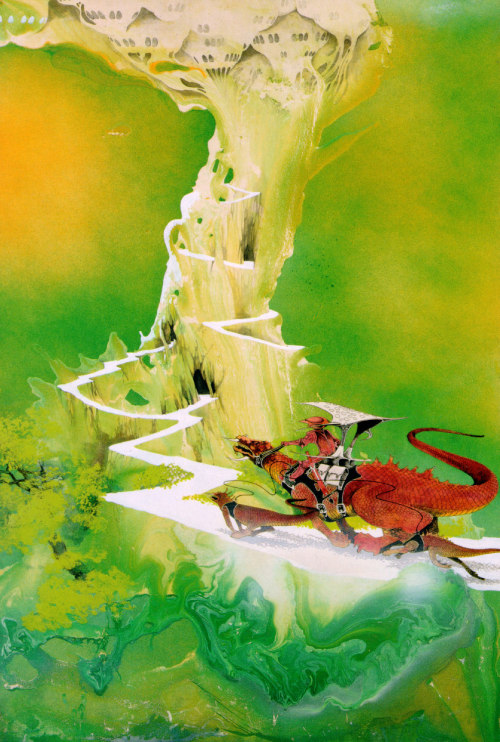 """Green Castle"", by Roger Dean."