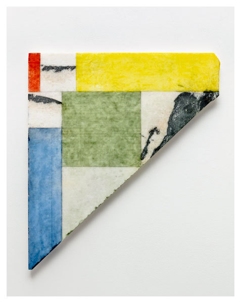 framenoir:  Brice Marden Formal Marble, 2011 oil and graphite on marble One of the works displayed in the artist's exhibition of new paintings, on view at Matthew Marks Gallery through June 23. Learn more about Marden in his interview with Financial Times.