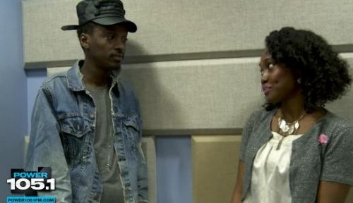 "I totally fell in love with K'naan after hearing him on Wale's ""TV On The Radio"" + I fell in Love AGAIN after seeing ""Nothing To Lose"" w/ Nas. He's so mellow."