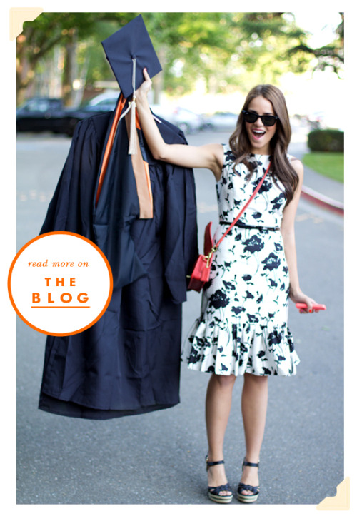 katespadeny:  we're kicking off our grad style series with gal meets glam blogger julia engel, who donned ksny on commencement day. see how she styled the look and get the 411 on her life as a fashion blogger, her dream job and plans post graduation on our blog: http://bit.ly/KJKVbV