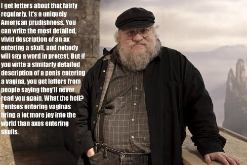 #GeorgeRRMartin wins EVERYTHING