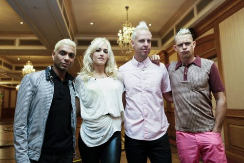 No Doubt at F1 Rocks press conference, 24th September 2009.