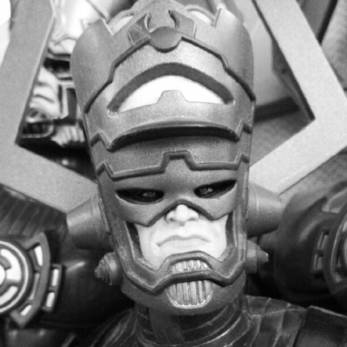 agentmlovestacos:  Galactus is not amused. (Taken with instagram)