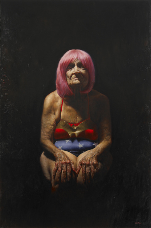 Painting by Jason Bard Yarmosky from 'Elder Kinder'