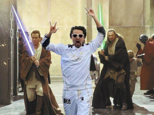 Olympic Matt in Star Wars :3
