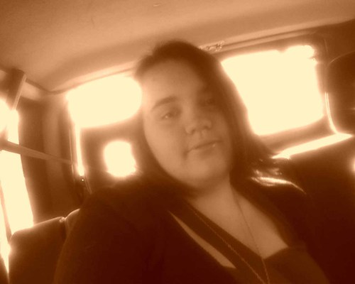 This is me on my way to an orchestra performance! I play the viola :)