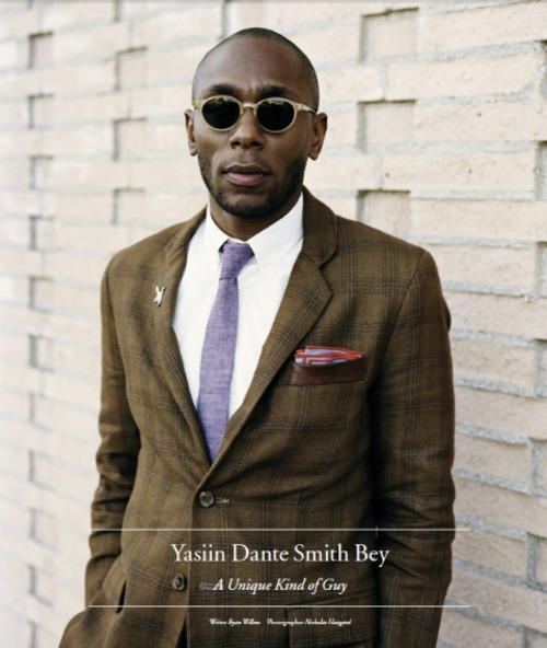 class and accomplishment nicohalloway:  Yasiin Dante Smith Bey aka Mos Def |Sunglasses, Pocket Squares, Ties | http://www.theurbangent.com/