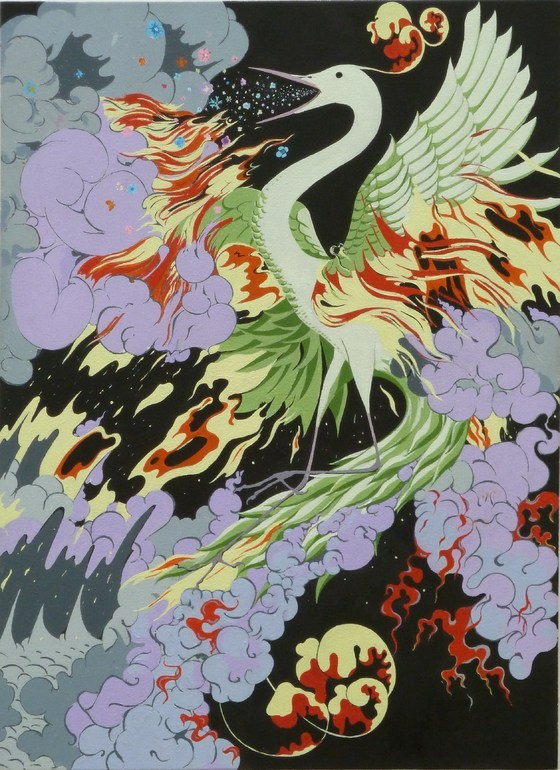 darksilenceinsuburbia:   David Jones. Kimono My House.