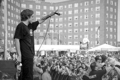 Parker Cannon of The Story So Far @ Bamboozle 2012Rozko Photography 2012