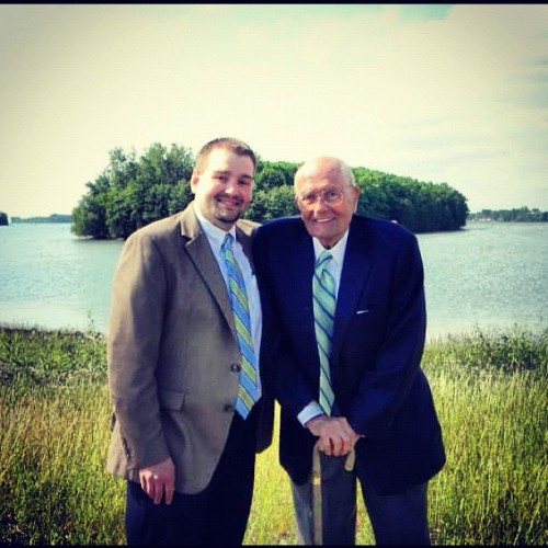 My brother and his boss, Rep. John Dingell!! (Taken with instagram)