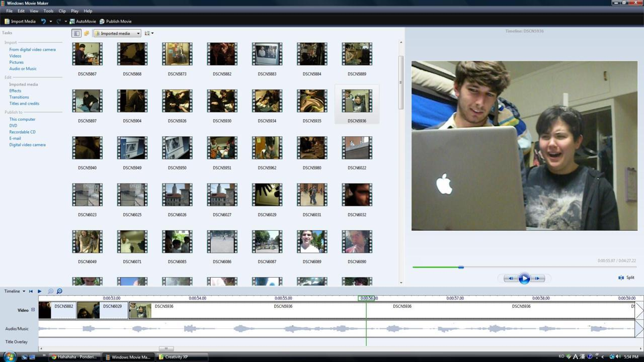 editing video XD