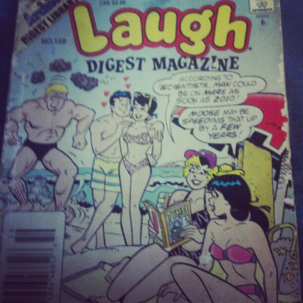 Classic archies make me laugh (Taken with instagram)