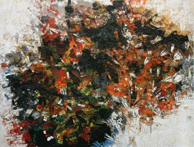 La roue / The Wheel (Cold Dog - Indian Summer), 1954-5 Jean-Paul Riopelle