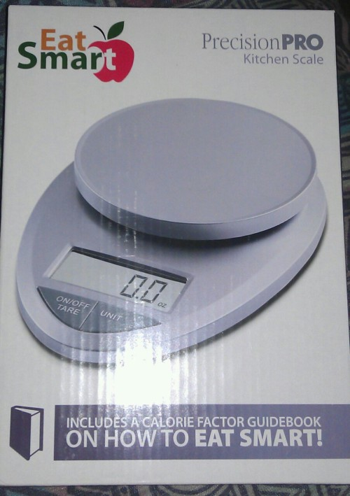 Finally got a kitchen scale! Now I'll actually be compelled to count ALL my calories on MyFitnessPal & be confident that I'm doing it right.