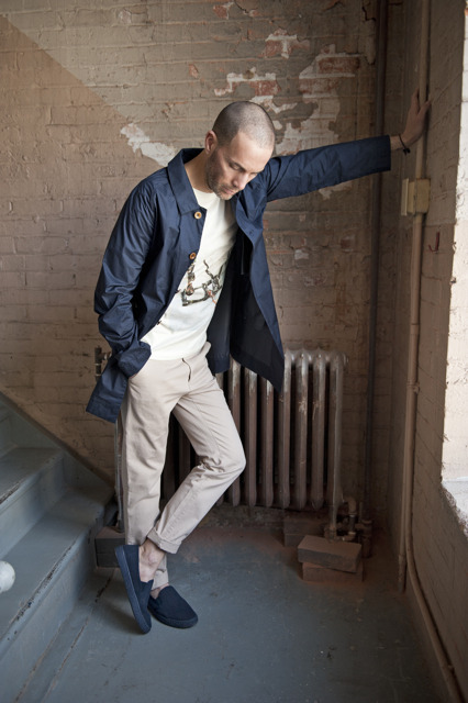 jacket: Folk t-shirt: Hixsept pants: Hixsept shoes: APC