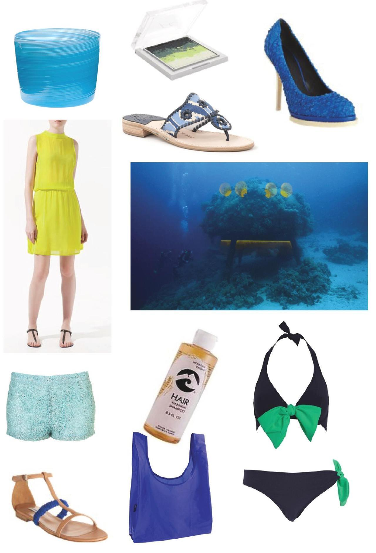 Style inspired by the sea! http://nonsensesensibility.com/blog/2012/05/under-the-sea-with-style-the-starfish-house/