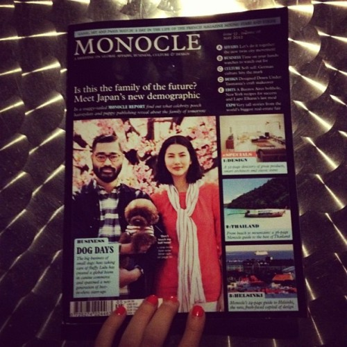 #monocle new favie #magazine amazing global #content and #design (Taken with instagram)