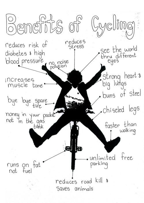 We LOVE bike riding this time of year! Not only is it a great alternative to running, it's something fun to do with friends.
