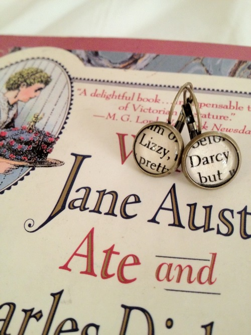 Lizzy & Darcy EarringsJane & Bingley Earrings  Etsy ShopFacebook PageTwitterTumblr