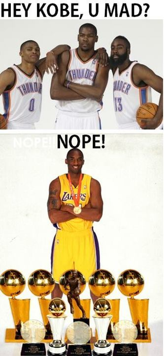 ofledamariz:  Kobe's not mad. >:)  Oh you should be MAD…