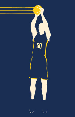 Tyler Hansbrough by Derek Eads