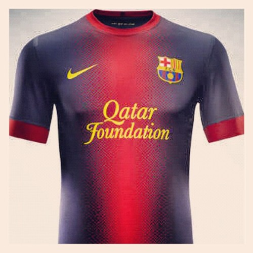 Oof try again. #FCBarcelona 2012/13 home kit (Taken with instagram)