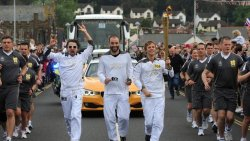 Muse rocking the Olympic torch: London 2012.