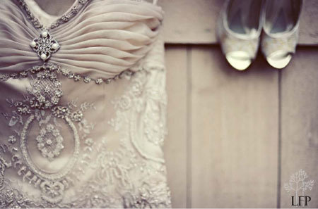 Striking Beading Wedding Dress - Love It So Much on We Heart It. http://weheartit.com/entry/29123104
